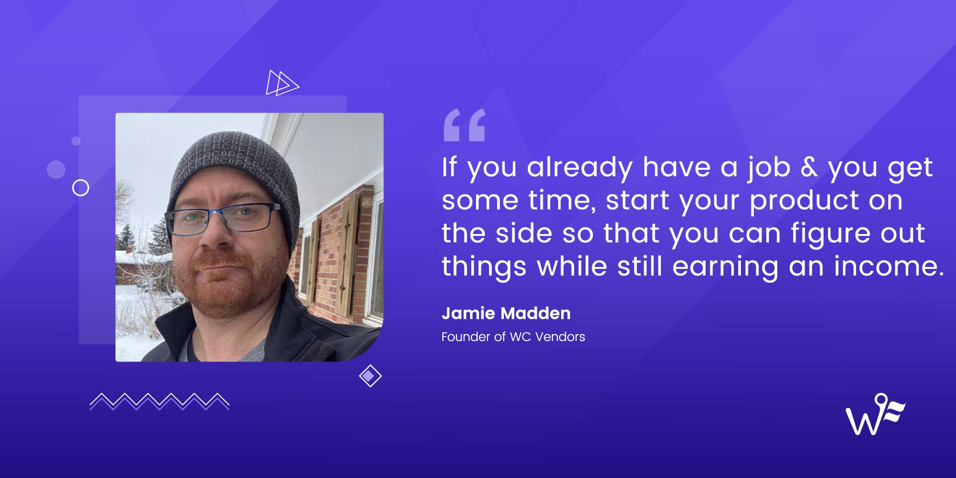 Jamie Madden of WC Vendors